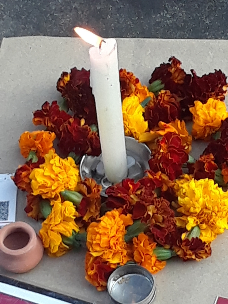 Flower Offering